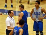 Coach K souned his whistle for many teaching moments.