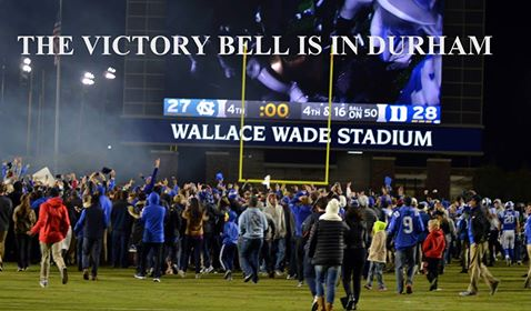 Duke defeats UNC for Victory Bell