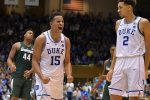 Frank Jacson helped key a 9-0 Duke run as they defeated Michigan State 78-69 in Cameron.
