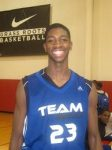 A young Amile Jefferson