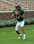 Daniel Jones went  4 of 8 in passing during Duke scrimmage.