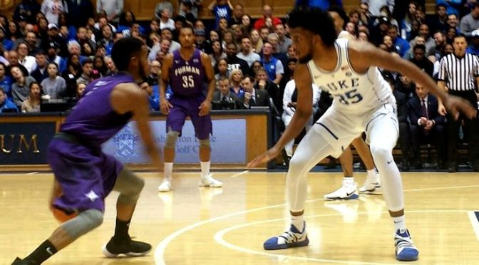 0be55eb36037 Blue Devil Nation  Duke Rolls Past Furman 92-63