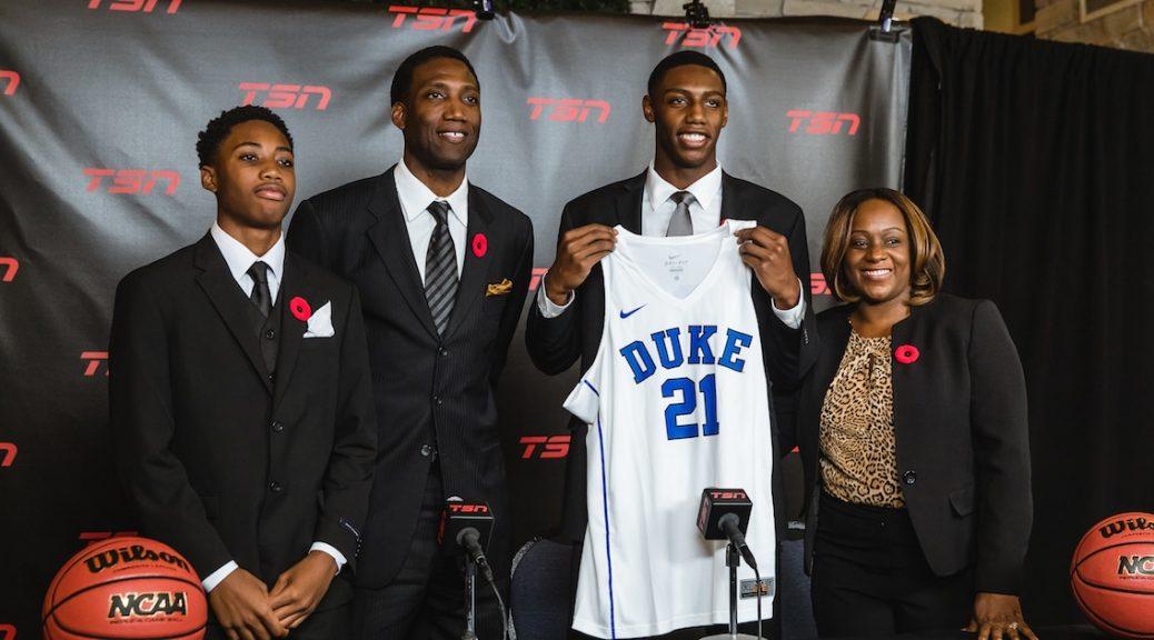 Blue Devil Nation: Duke Basketball Recruiting News Archives
